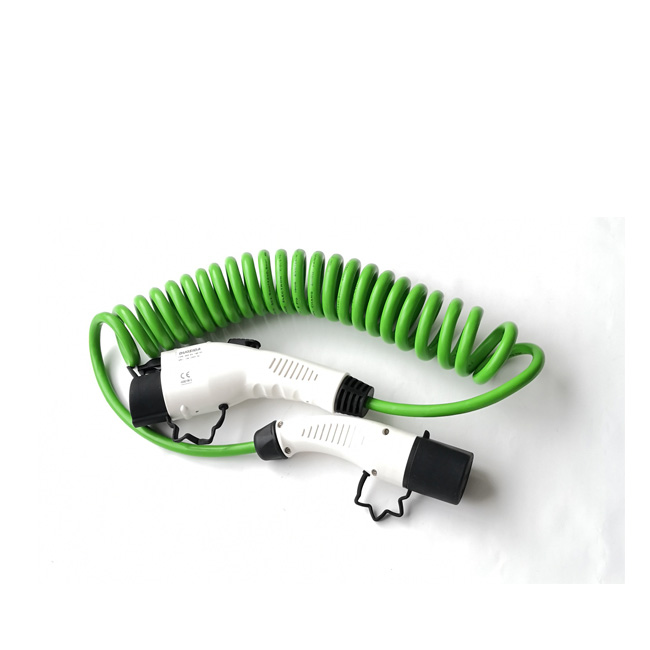 SEA J1772 type 1 to IEC62196-2 type 2 EV charging cable