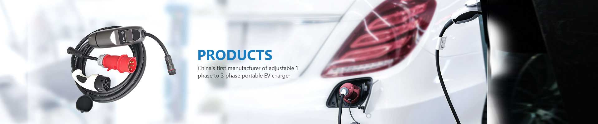 ev mobile charger, type 2 ev charger, ev charging cable in China