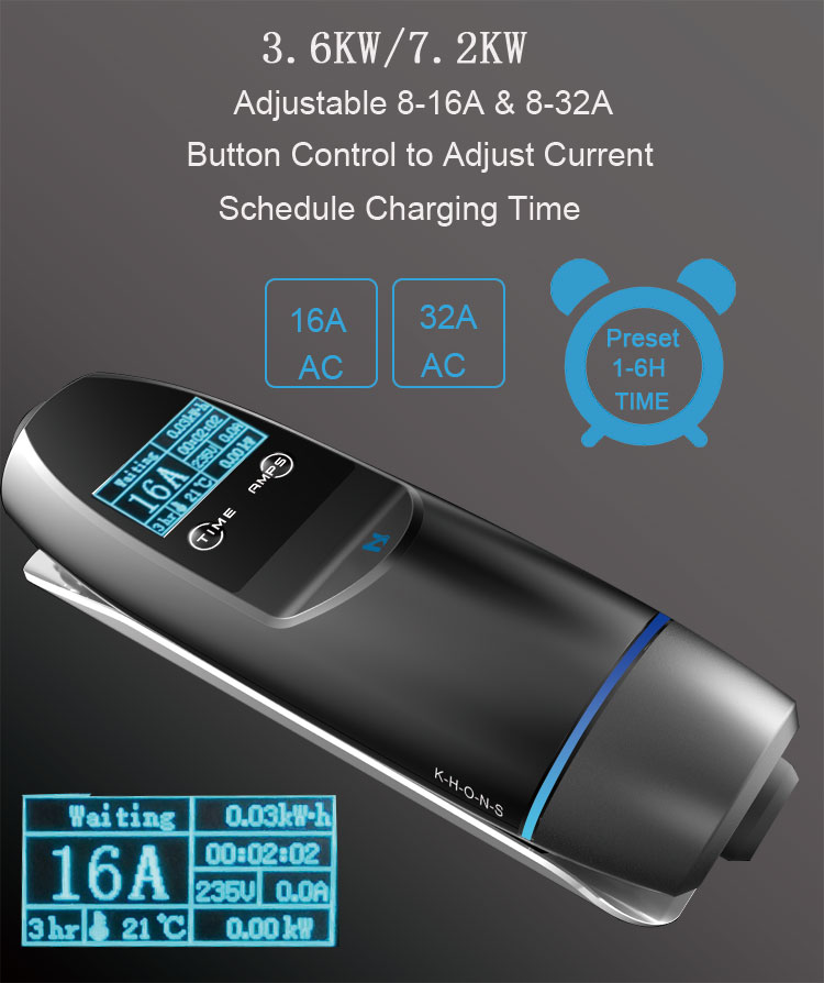 portable ev car charger