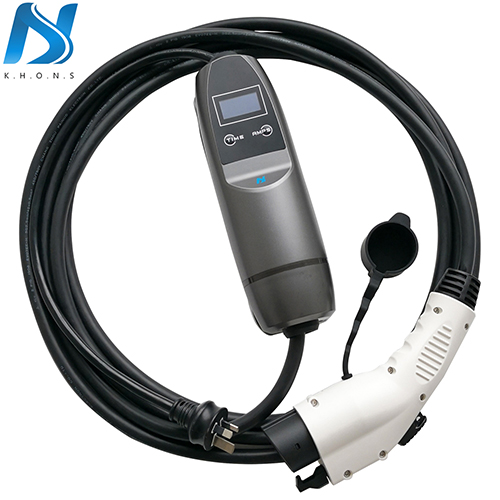 J1772 plug 16A portable nissan leaf home charger of Australia plug 5m cable