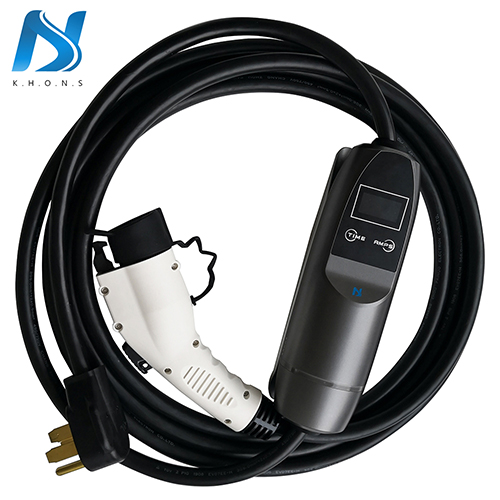 J1772 EVSE Electric Vehicle Car EV Charger With NEMA 14-50 Plug 8A 16A 32A Adjustable
